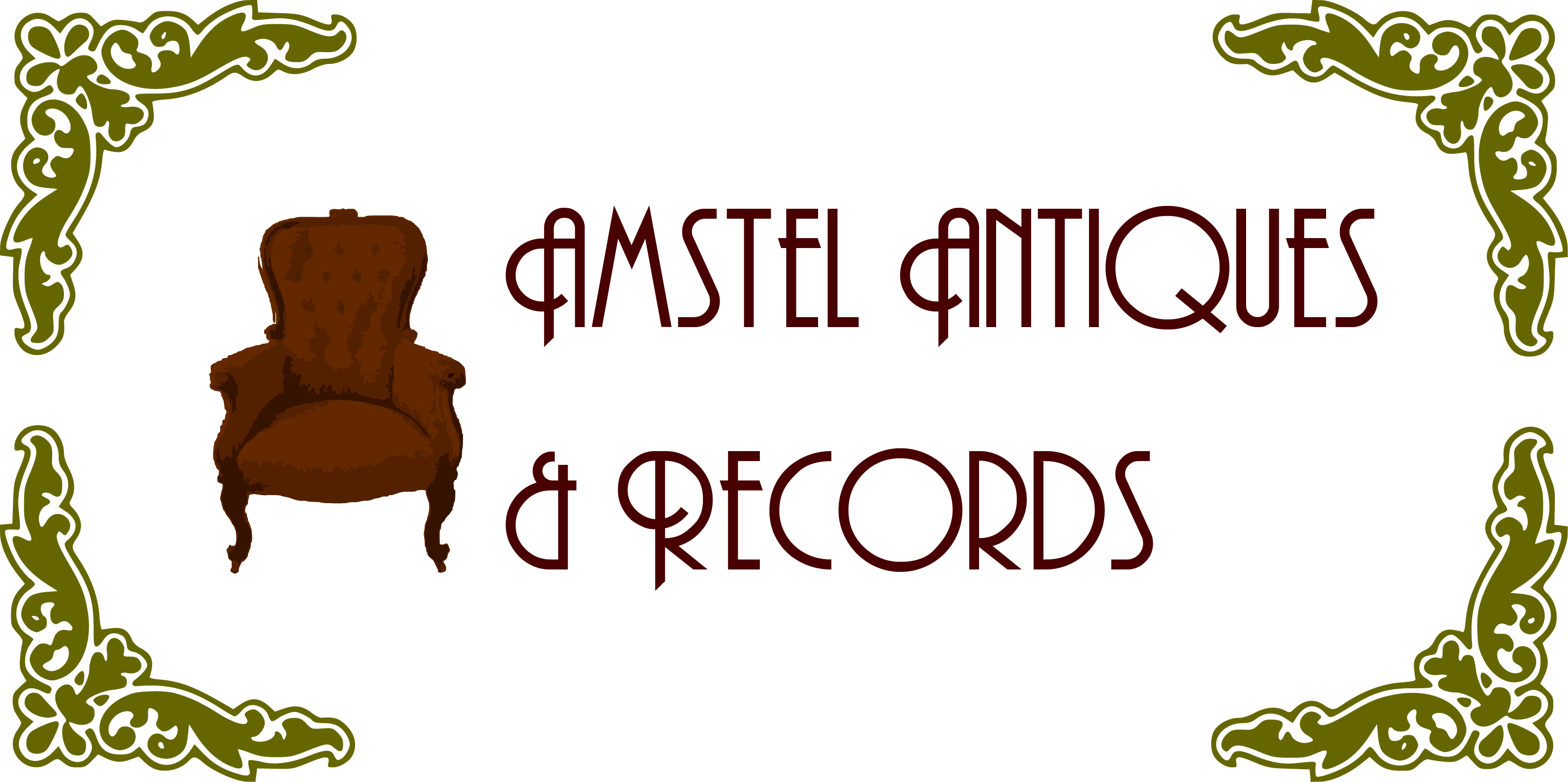 Amstel Antiques & Records logo